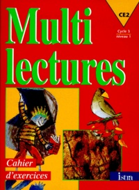 Martine Géhin - MULTI LECTURES CE2. - Cahier d'exercices.