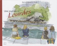 Martine Guénard et  Elvine - Une journée à... Lourdes.