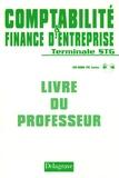 Martine Henard et Martine Papet - Comptabilité & finance d'entreprise Tle STG - Livre du professeur. 1 Cédérom