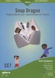 Martine Kervran et Juliette Fraboul - Snap Dragon CE1 Niveau A1 - Projets culturels pour l'apprentissage de l'anglais, 2 volumes. 1 Cédérom