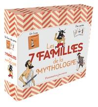 Martine Laffon et Michel Laporte - Les 7 familles de la mythologie - 1 livre et 45 cartes.
