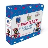 Martine Laffon et Fred Sochard - Les 7 familles des rois et reines de France - Avec 42 cartes.