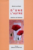Martine Lani-Bayle - D'une l'autre - Ou Destins de femmes.