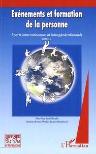 Openwetlab.it Evénements et formation de la personne - Tome 2, (2005-2006), Ecarts internationaux et intergénérationnels Image
