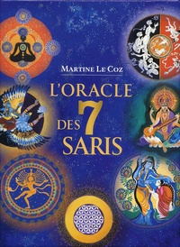 Martine Le Coz - L'oracle des 7 saris - Avec 50 cartes oracle.