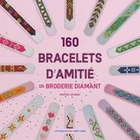Martine Lintignat - Bracelets d'amitié en Broderie Diamant.