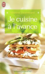 Martine Lizambard - Je cuisine à l'avance.