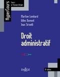 Martine Lombard et Gilles Dumont - Droit administratif - 13e éd..