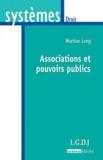 Martine Long - Associations et pouvoirs publics.