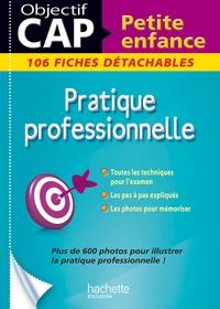 Deedr.fr Pratique professionnelle CAP petite enfance - 106 fiches détachables Image