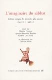 Martine Ostorero et Agostino Paravicini Bagliani - L'imaginaire du sabbat - Edition critique des textes les plus anciens (1430 c.-1440 c.).