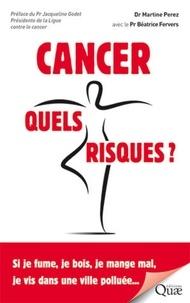 Sennaestube.ch Cancer, quels risques - Si je fume, je bois, je mange mal, je vis dans une ville polluée... Image