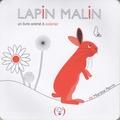Martine Perrin - Lapin malin - Un livre animé à colorier.