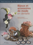 Martine Piveteau - Bijoux et accessoires de mode en dentelle.