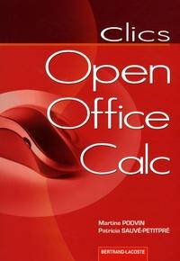 Martine Podvin et Patricia Sauvé-Petitpré - Open Office Calc.
