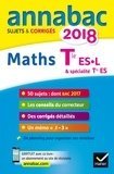 Martine Salmon - Mathématiques Tle ES spécifique & spécialité Tle L spécialité - Sujets et corrigés.