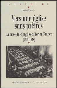 Histoiresdenlire.be Vers une Eglise sans prêtres - La crise du clergé séculier en France (1945-1978) Image