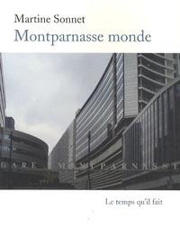 Martine Sonnet - Montparnasse monde.