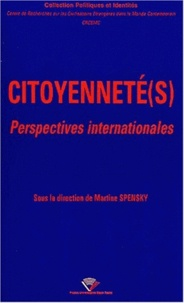 Martine Spensky et  CRCEMC - Citoyenneté(s) - Perspectives internationales.