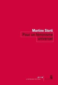 Martine Storti - Pour un féminisme universel.