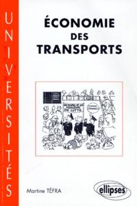 Martine Tefra - Économie des transports.