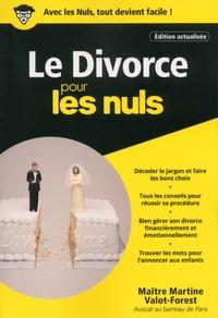 Le divorce pour les nuls - Martine Valot-Forest pdf epub