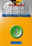 Martine Van Blitz et Alain Redding - Mathématiques, 4e.
