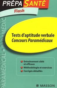 Tests daptitude verbale - Concours paramédicaux.pdf