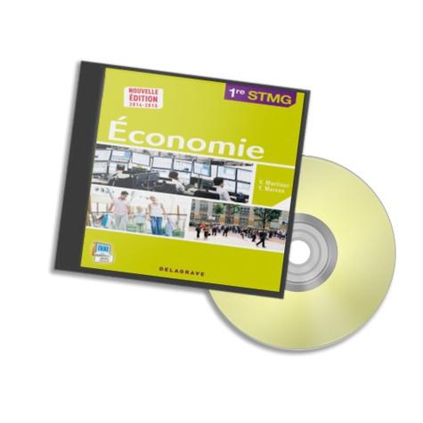 Martinez - Economie 1e STMG - Prof. 1 Cédérom