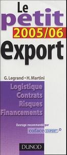 Martini et  Legrand - Le Petit Export.