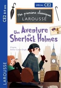 Martyn Back et Pascal Phan - Une aventure de Sherlock Holmes d'après Arthur Conan Doyle - CE2.
