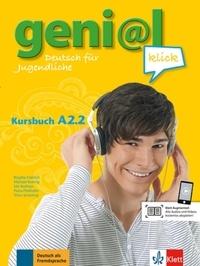 Deedr.fr Geni@l Klick A1 - Kursbuch A2.2 Image