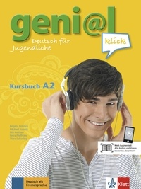 Histoiresdenlire.be geni@l klick A2 - Kursbuch mit 2 Audio-CDs - Deutsch als Fremdsprache für Jugendliche Image