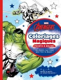 Marvel et Sophie Marie - Avengers - Coloriages magiques - points à relier.