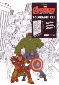 Coloriage Xxl Avengers Age Of Ultron De Marvel Livre Decitre