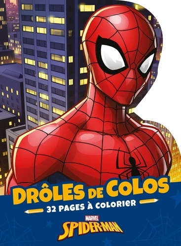 Drôles de colos Spider-Man. 32 pages à colorier