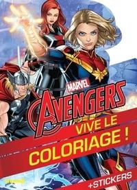 Marvel - Marvel Avengers - Avec des stickers.
