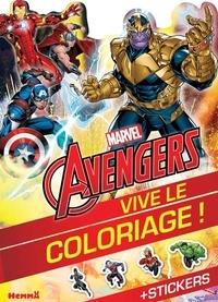 Marvel - Marvel Avengers - + stickers.