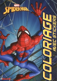 Marvel - Marvel Spider-Man - Coloriage avec stickers.