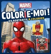 Marvel - Marvel - 24 portraits à colorier.