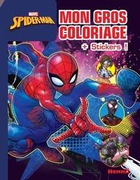 Marvel - Mon gros coloriage Spider-Man - Avec des stickers.