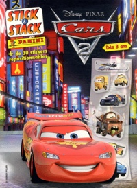 Marvel Panini France - Cars 2 - 30 stickers repositionnables, Dès 3 ans.