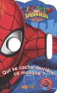 Marvel Panini France - Livre masque Spider-man & ses amis.