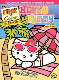 Marvel Panini France - Stick & color Hello Kitty - Dès 3 ans.
