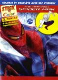 Marvel Panini France - Tha Amazing Spider-man - Colorie et complète avec des stickers.
