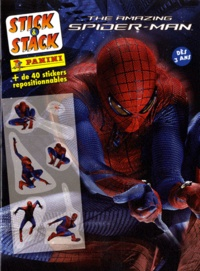 Marvel Panini France - The Amazing Spider-man - + de 40 stickers repositionnables.