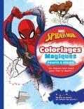 Marvel et Raphaël Hadid - Spider-Man - Coloriages magiques points à relier.