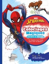 Marvel et Raphaël Hadid - Spider-Man - Coloriages magiques - points à relier.