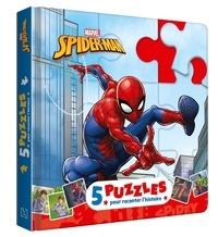 Marvel - Spider-Man - 5 puzzles pour raconter l'histoire.