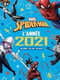 Marvel - Spider-Man - L'année 2021. Des héros, des jeux, des défis.